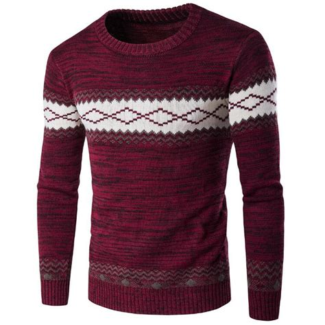 Sweater Cantik Trendy 1 sweaters european and american appear pullover mens sweater warm polo sweater brand