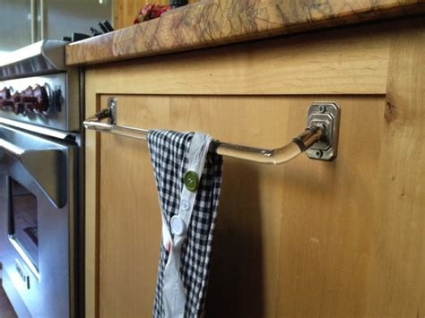 my kitchen towel bar country design style