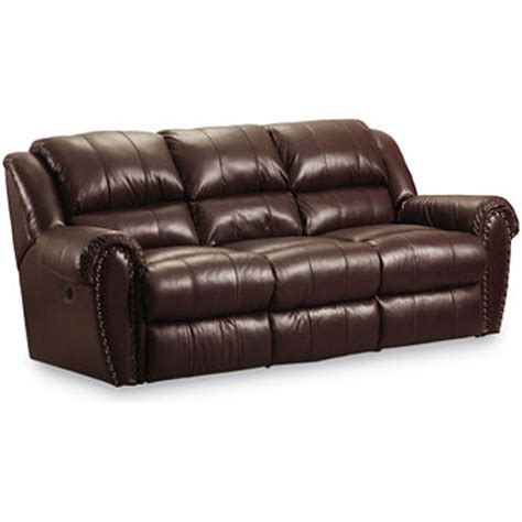 lane furniture leather reclining sofa lane furniture steve double reclining top grain leather