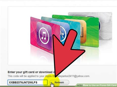 How To Buy Songs Using Itunes Gift Card - how to use an itunes gift card 9 steps with pictures wikihow