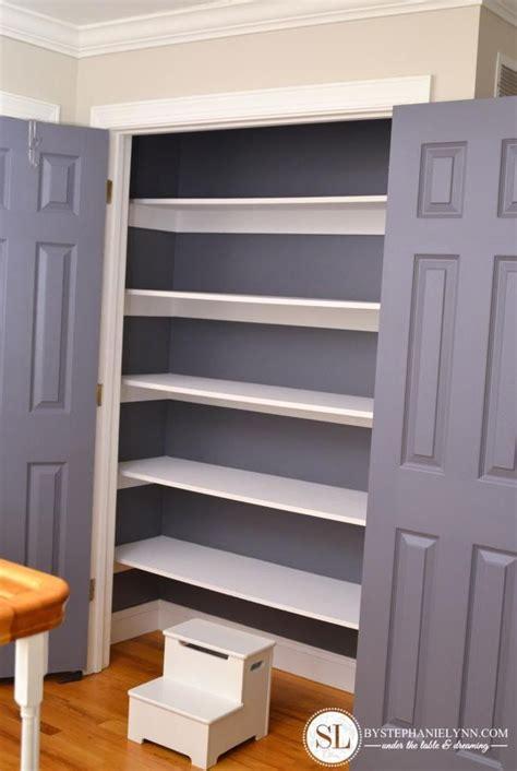 How To Build A Linen Closet by Linen Closet Organization