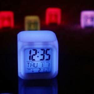 Jam Moody Kubus 7 Warnajam Digital Kubus jam moody kubus berubah 7 warna 010 produk albc