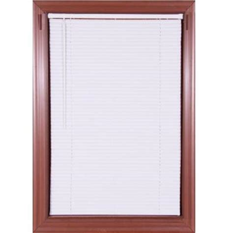 white cordless 1 in mini blind 31 in w x 64 in l