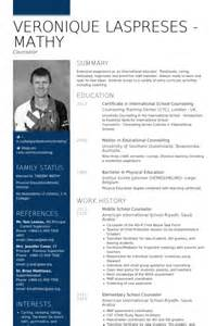 middle school resume template school counselor resume sles visualcv resume sles