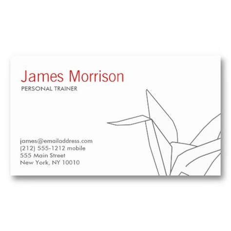 origami crane template origami crane 3 business card