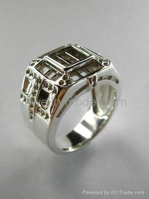 jewelry fashion gold or silver ring mold and model a