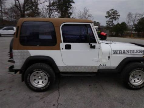 Used Jeeps For Sale In Alabama Purchase Used 1992 Jeep Wrangler Base Sport Utility 2 Door