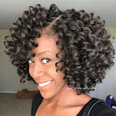 crochet natural hair styles crochet braids with jamaican bounce hair crochet braid