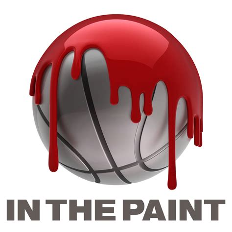in the paint in the paint