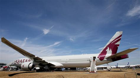 world s flight qatar airways boeing 777 lands in new zealand the national