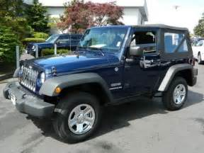 light blue jeep wrangler 2 door 2013 jeep wrangler sport sport suv 2 doors true blue pearl