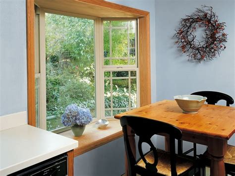 Images Of Bay Windows Inspiration Inside View Of Milgard Tuscany Bay Window With Grids Window Inspiration Ideas