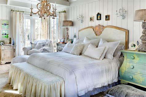 glorious shabby chic country bedding decorating