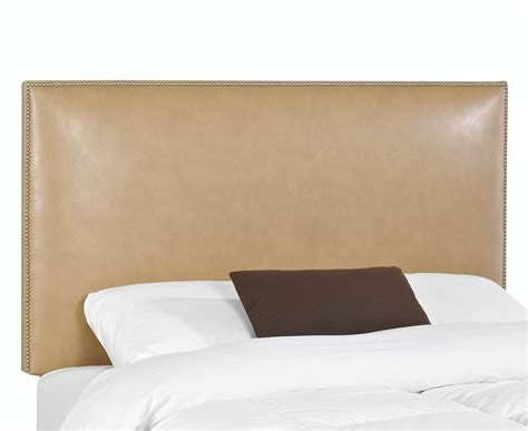upholstered headboards twin glade twin upholstered headboard with nail head trim by