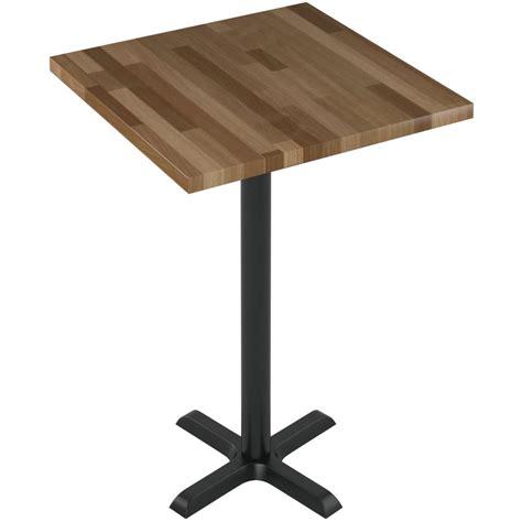counter height butcher block table premium solid wood butcher block restaurant table bar height