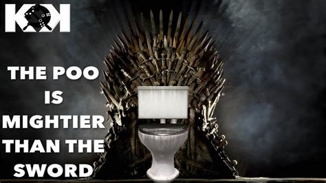 game of thrones toilet a game of thrones toilet warfare youtube