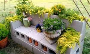 billie s diy cinder block planter flea market gardening