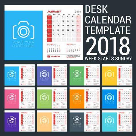 adobe illustrator calendar template 2018 free 2018 calendar template illustrator kalentri 2018