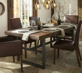 Pottery Barn Dining Room Furniture by Griffin Fixed Dining Table Pottery Barn