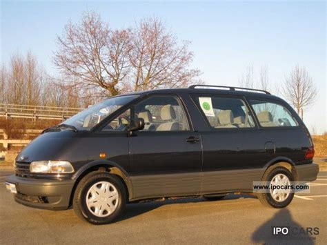 1999 Toyota Previa 1999 Toyota Previa Heater Abs Central Locking 8sitzer