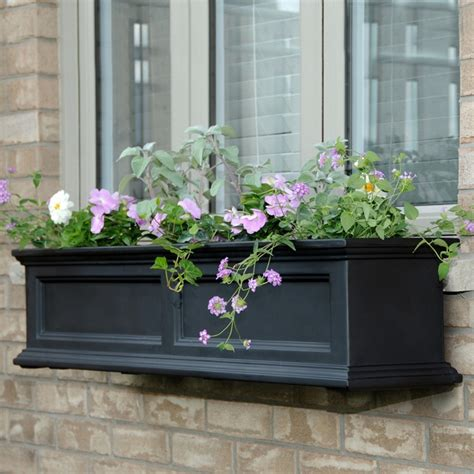 Outdoor Window Boxes Window Box Planters by New Mayne Fairfield 48 Quot Window Box Outdoor Flower Planter