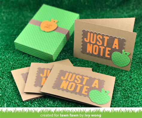 card gift sets the lawn fawn brilliant fall winter gift card sets