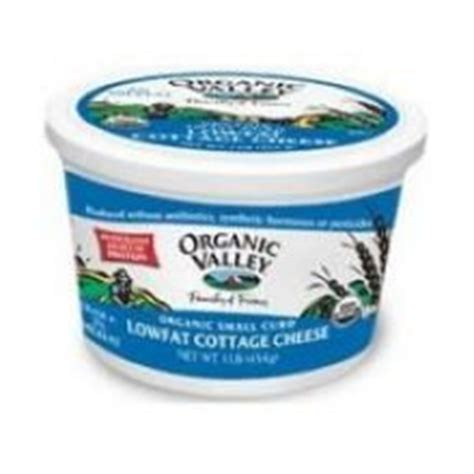 organic valley cottage cheese organic valley organic lowfat 2 percent cottage cheese 16 ounce 6 per