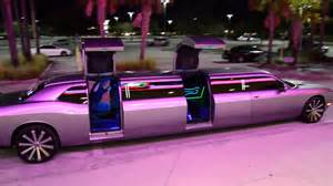 new dodge challenger limo clean ride limo drive by