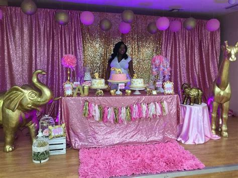 Pink Safari Baby Shower Ideas by 9 Best Baby Shower Images On Baby Shower