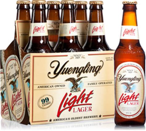 Yuengling Light Lager by Yuengling Frank B Fuhrer Wholesale