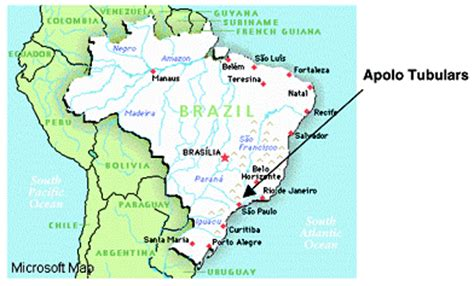 neighboring countries of brazil graphicrepresentation of a map of brazil and certain