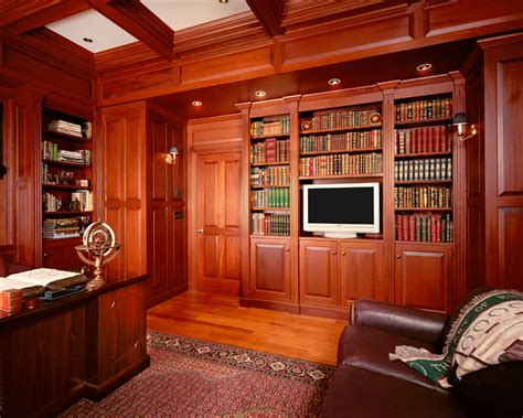 yorktown woodworking classic library traditional home office new york