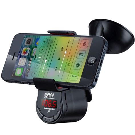 Hm Mp3 Covers by Smart Phone Car Holder With Fm Radio Buy Car Phone Holders