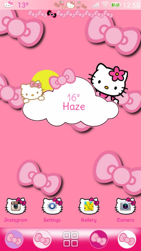 theme hello kitty cho ios 9 kitty themes for november pretty droid themes hello kitty