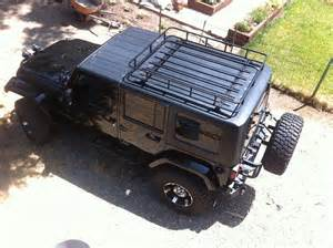 roof rack options for jku with top