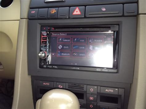 Audi A4 B6 Stereo by Aftermarket Stereo Dash Kit For B6 Audiforums