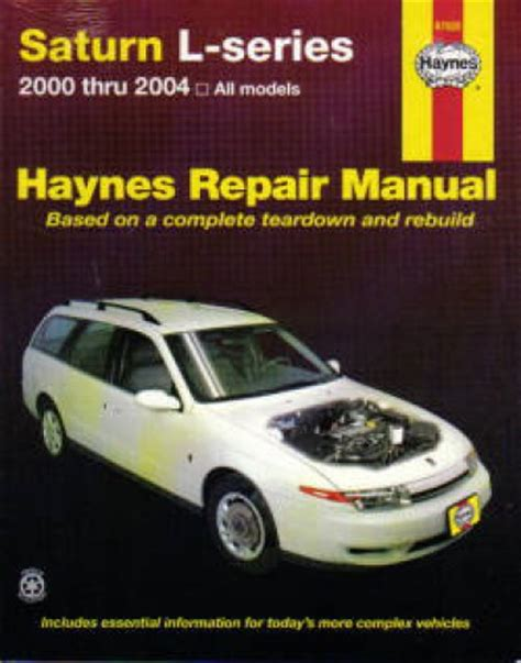 auto repair manual online 2004 saturn vue on board diagnostic system haynes saturn l series 2000 2004 auto repair manual