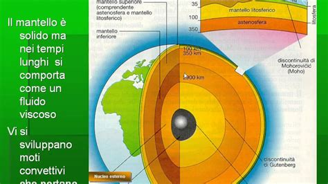 struttura interna terra struttura interna della terra
