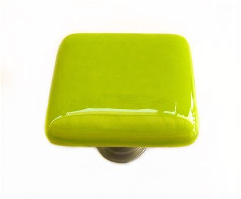 green glass cabinet knobs lime green glass cabinet knob l kitchen bathroom hardware