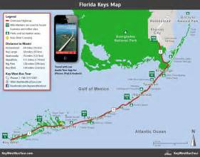 florida map key west tour