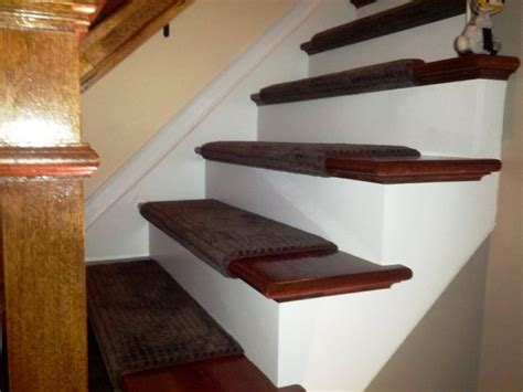 Ideas Wood Stair Treads ? New Home Design : How to Make