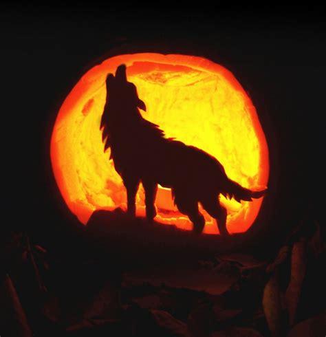 wolf pumpkin template wolf pumpkin stencil