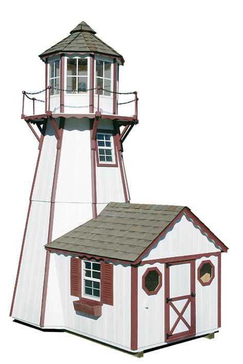 lighthouse home floor plans storage sheds 1 2 car garages playhouses board and