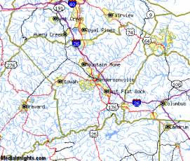 map of hendersonville carolina hendersonville vacation rentals hotels weather map and