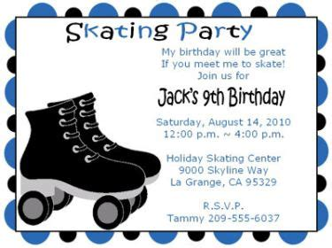 Top 15 Free Printable Roller Skating Birthday Party Invitations Theruntime Com Skating Invitation Template Free