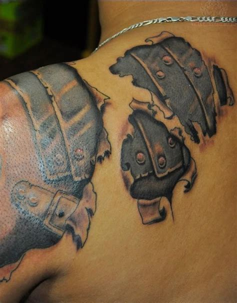 armor tattoo designs shoulder 60 wonderful armor tattoos
