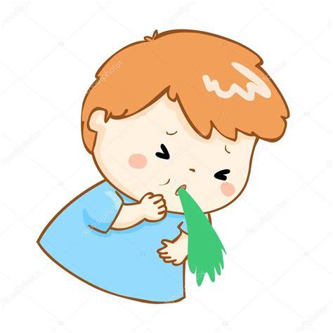 imagenes animadas vomitando vector de dibujos animados v 243 mitos de ni 241 o enfermo