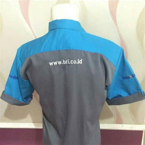 Baju Bri By Baju Bengkel Bri jual baju seragam karyawan bri pria baju bengkel pria
