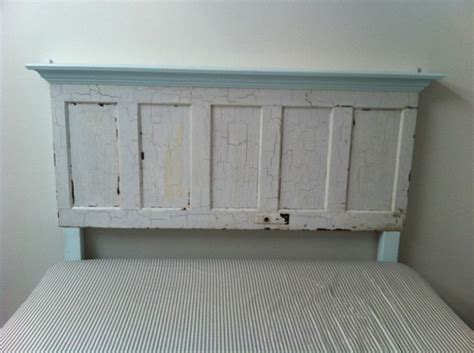 king size door headboard king size door headboard with light blue accents