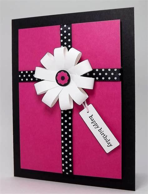 easy cards to make make a simple handmade birthday card birthday